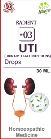 RADIENT 3 UTI (URINARY TRACT INFECTIONS) DROP