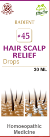 RADIENT 45 HAIR SCALP RELIEF DROPS